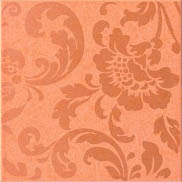 Atlas Concorde Fancy +4398 Декор керамич. FANCY ORANGE DAMASK DARK, 20x20