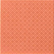 Atlas Concorde Fancy +4399 Декор керамич. FANCY ORANGE PATTERN SHINY, 20x20